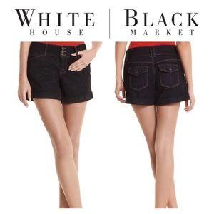 WHBM Blanc Denim Jean Shorts Size 6